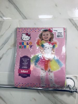 Hello kitty costume for infant baby girl for Sale in South Barrington, IL