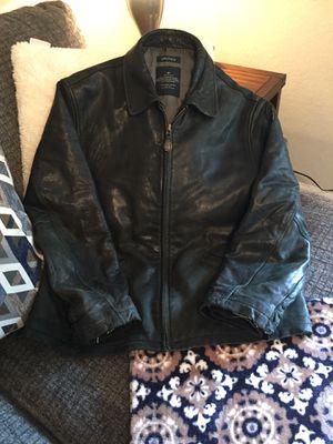 Men's Nautica leather jacket for Sale in Smyrna, TN