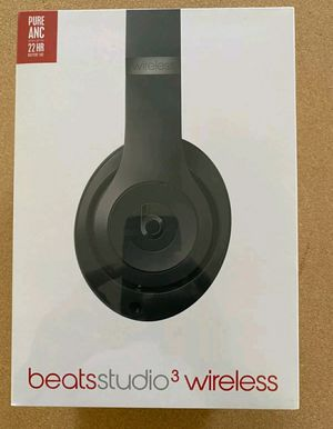 New Beats Studio 3 Wireless Headphones Black for Sale in Fremont, CA