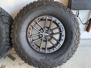 2019 Ford Raptor Beadlock Wheels & Tires for Sale in San Antonio, TX
