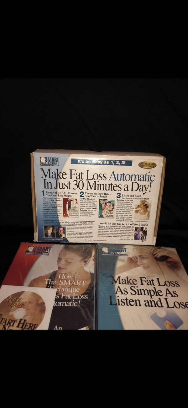 It's as easy as 1, 2, 3! There Are 13 CDs Provida SMART TECHNIQUE Automatic Fat Weight Loss Program Book CD Set Workbooks