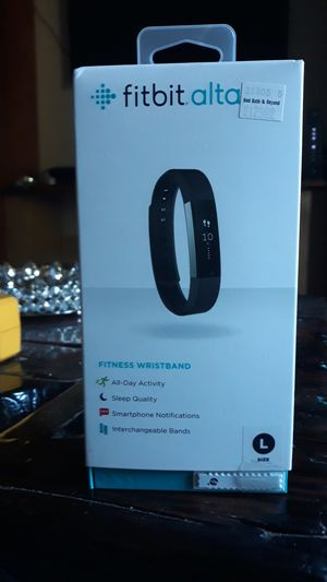 Fitbit alta fitness wristband for Sale in Fort Lauderdale, FL