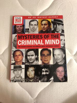 Mysteries of the criminal mind book for Sale in Lakeland, FL