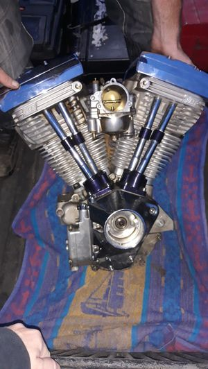 95 cubic inch S&S motor super stock...came out of running bike for Sale in Tiverton, RI