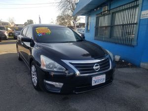 2014 NISSAN ALTIMA S AUTOMATIC TRANSMISSION. ZERO TO LOW DOWNPAYMENT REQUIRED. for Sale in Modesto, CA