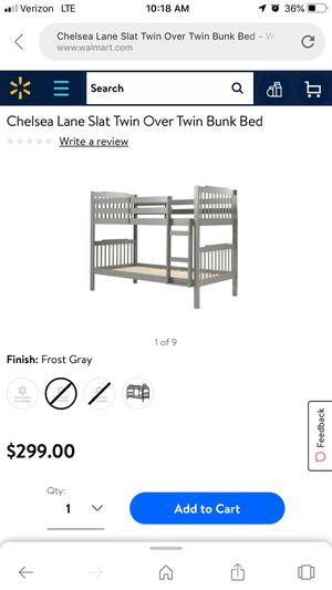 Twin bunk bed for Sale in Tampa, FL