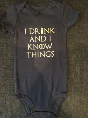 Game of Thrones onesie - custom colors for Sale in Washington, DC