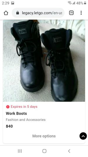 Work boots for Sale in Tinton Falls, NJ
