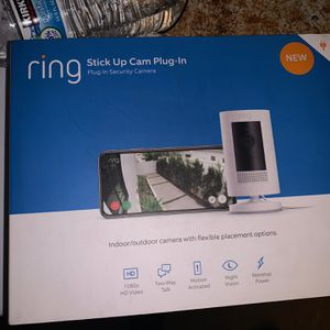 Ring Stick Up Cam Plug In for Sale in Costa Mesa, CA