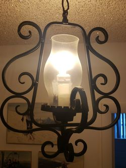 Vintage Iron Hanging Ceiling Light for Sale in Hialeah,  FL