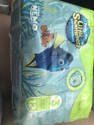 Huggies little swimmers size 3 for Sale in Sewell, NJ