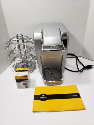 Keurig Coffee Maker & Reusable KCup Filter & KCup Holder & Booklet for Sale in Houston, TX