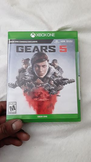 Gears of War 5 for Xbox One for Sale in Tolleson, AZ