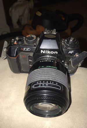Nikon N2020 70mm Slr Film Camera for Sale in Washington, DC