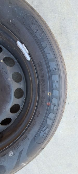 tires with rims 5x112. 195/60/15 for Sale in Fontana, CA
