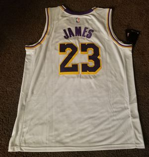 Official Lebron James (Los Angeles Lakers) White Home Nike Jersey [Sizes: S, M, XL, & 2XL] for Sale in Chino, CA
