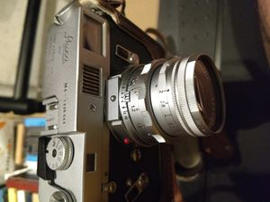 Leica M4 - 1226543 camera / 50mm summicron lens and Leica leather bag for Sale in Sacramento, CA