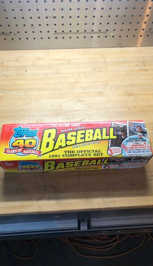 1991 Topps complete set. for Sale in Plano, TX