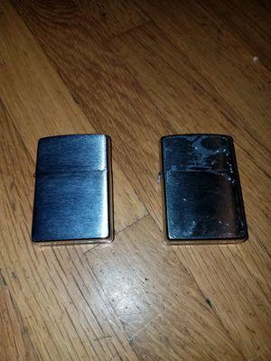 2x zippo lighters for Sale in Spokane, WA
