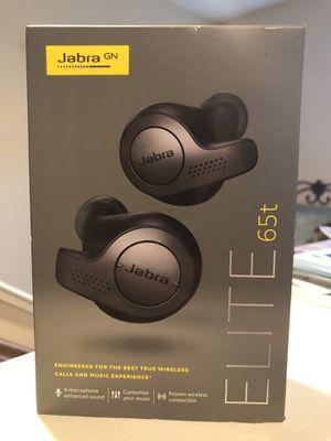 New: Jabra Wireless Earbud Headphones - Titanium Black for Sale in Tracy, CA