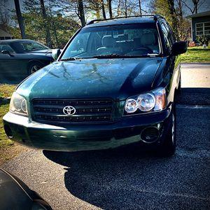 2001 Toyota Highlander 2.4L 4WD for Sale in Woodbridge, VA