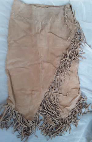 Outeredge Leather Fringe Skirt Size 7 for Sale in Lancaster, TX