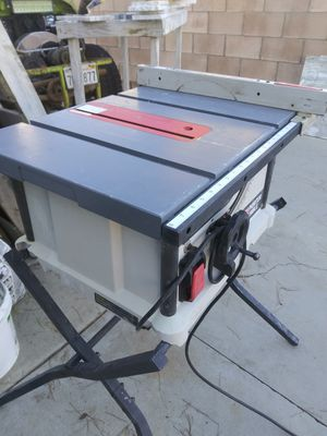 Excellent working porter cable table saw for Sale in Bakersfield, CA