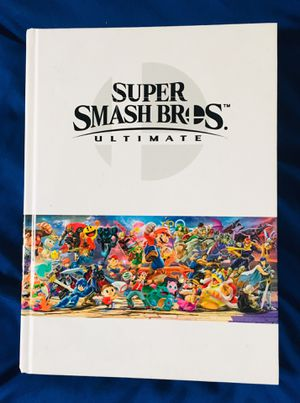 Super Smash Bros Ultimate Guide Hardcover Nintendo Switch for Sale in Akron, OH