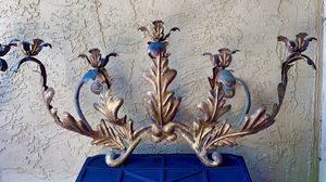 Fabulous Giant Pair (2) Rococco/Hollywood Regency style wall Candelabras. wa for Sale in San Diego, CA