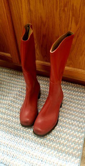 $5.00 Red Rain boots for Sale in Clovis, CA