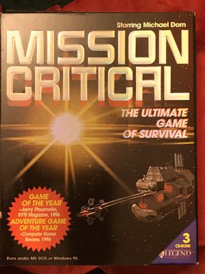 Mission Critical computer game for Sale in St. Louis, MO