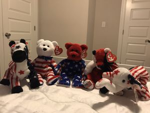 U.S.A. Patriotic America Ty Beanie Babies for Sale in Norfolk, VA