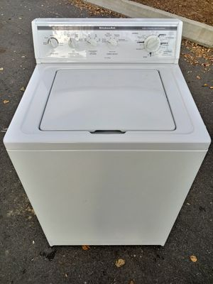 KITCHENAID SUPER CAPACITY WASHER for Sale in Raleigh, NC