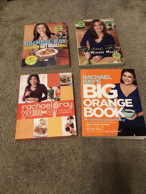 4 Rachel Ray Cookbooks for Sale in Belleville, IL