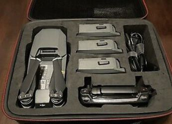DJI Mavic Pro Drone with 4K HD Camera with Accessories and Smatree Case for Sale in Downey,  CA