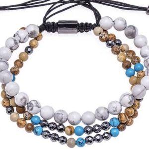 Howlite/Jasper Gemstone Bracelet for Sale in Anaheim, CA