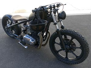 Motorcycle Bobber Kawasaki kz400 cc ( Trade for g-body or truck ) for Sale in Las Vegas, NV