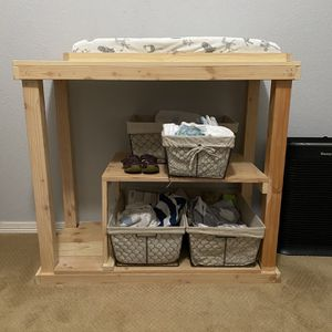 Changing Table And Baskets for Sale in Plano, TX
