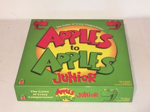 APPLES TO APPLES JUNIOR Kid's Card Game for Sale in Raleigh, NC