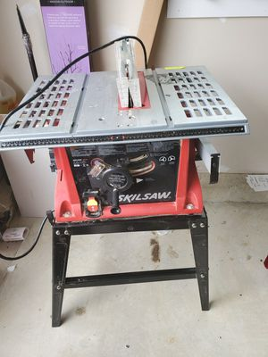 SKILSAW 3310 TABLESAW for Sale in White Plains, MD
