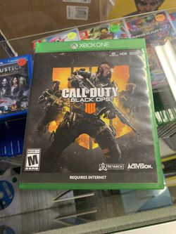 Call of Duty Black Ops 4 (XBOX ONE) I Accept Games And Consoles For Trade In Credit* for Sale in Moreno Valley, CA