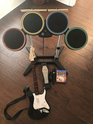 PS4 Rock Band 4 bundle for Sale in Arlington, TX