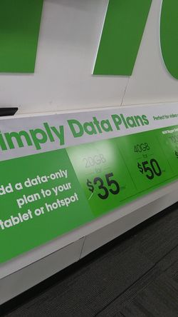 Simply Data Plans at Cricket Wireless for Sale in San Angelo,  TX