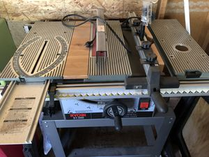 Ryobi table saw/router table for Sale in Cashmere, WA