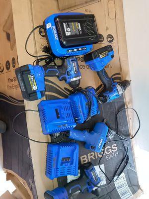 Cobalt batteries chargers and drills super deal for Sale in Ellenwood, GA