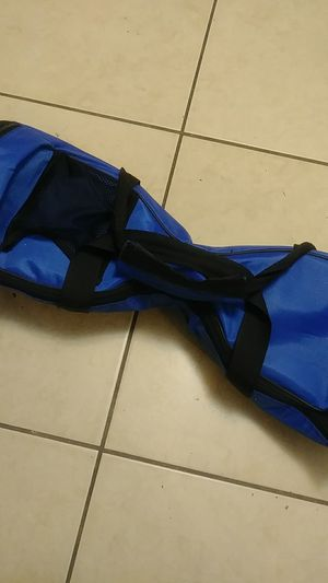 Blue Hoverboad with bag for Sale in Miami, FL