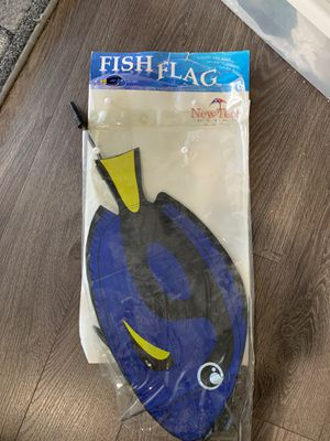 Dory Fish Flag for Sale in Ceres, CA