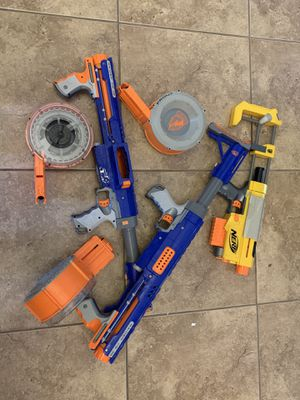 Lot of Nerf Guns. All in pic included for Sale in Las Vegas, NV