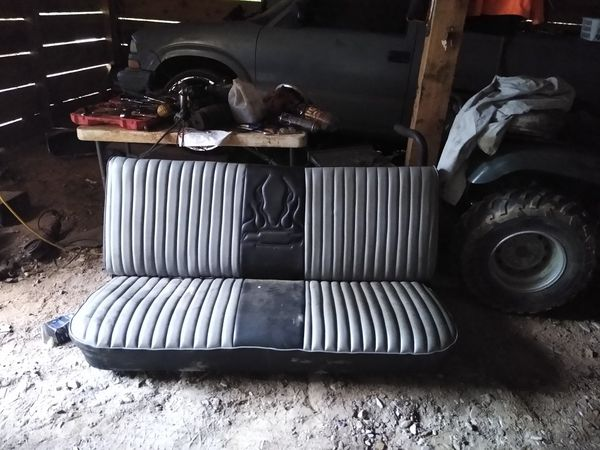 Seat for GMC truck and parts