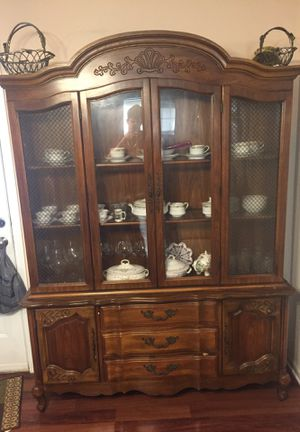 China Buffet Vintage Brown Wood for Sale in Greensboro, NC
